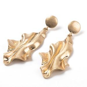 New model gold plated jhumka earring dubai gold earrings tops design for women