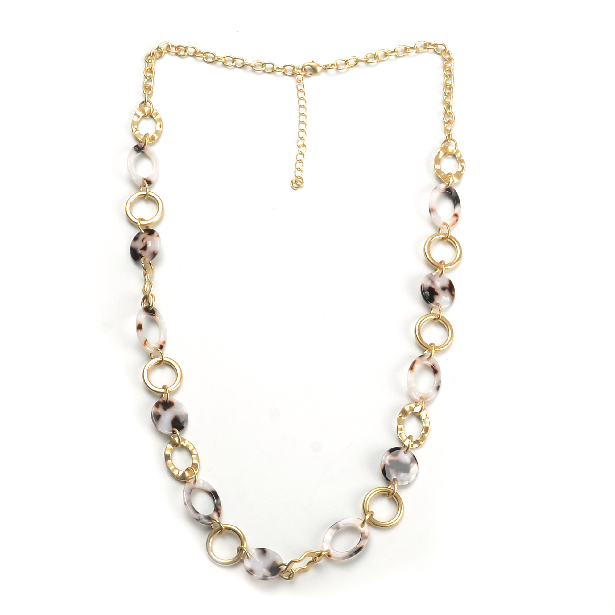 WENZHE Fashion necklace long chain acrylic acetate necklace for women party gifts Featured Image