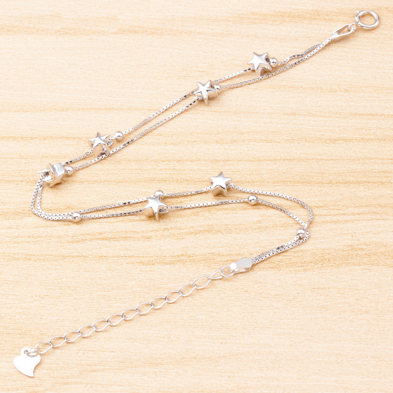 wholesale-multilayer-925-sterling-silver-star-chain2