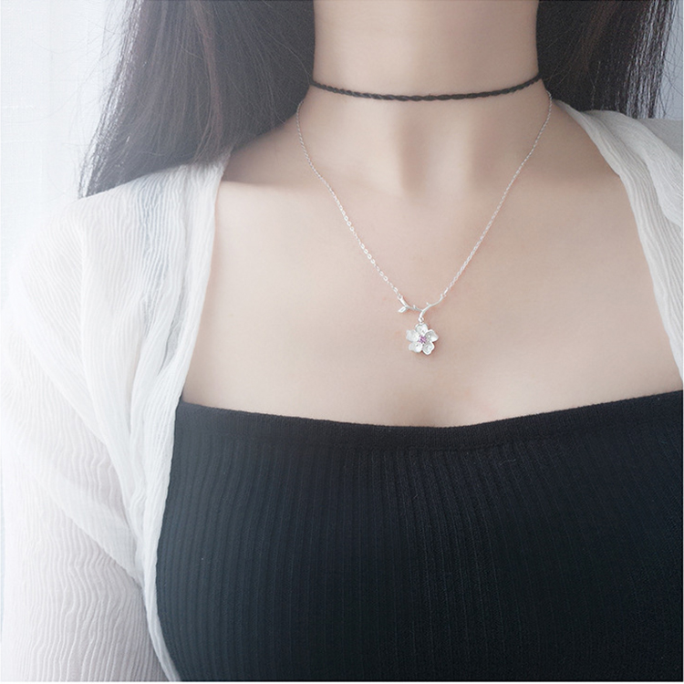 S925-Sterling-Silver-Clavicle-Chain-With-Single (4)