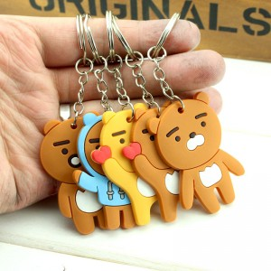 New Wenzhe Cartoon PVC key Chain