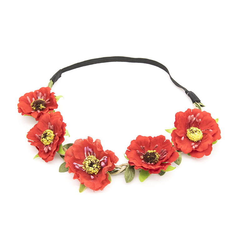 Fashion-Women-Bride-Flower-Headband-Lady-Bohemian (3)