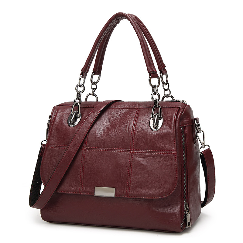 WENZHE fashion trends ladies designer cross body bags PU leather tote bag for women Featured Image