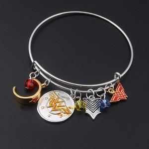 Fashion Jewelry Justice League Wonder Woman Combination Bracelets