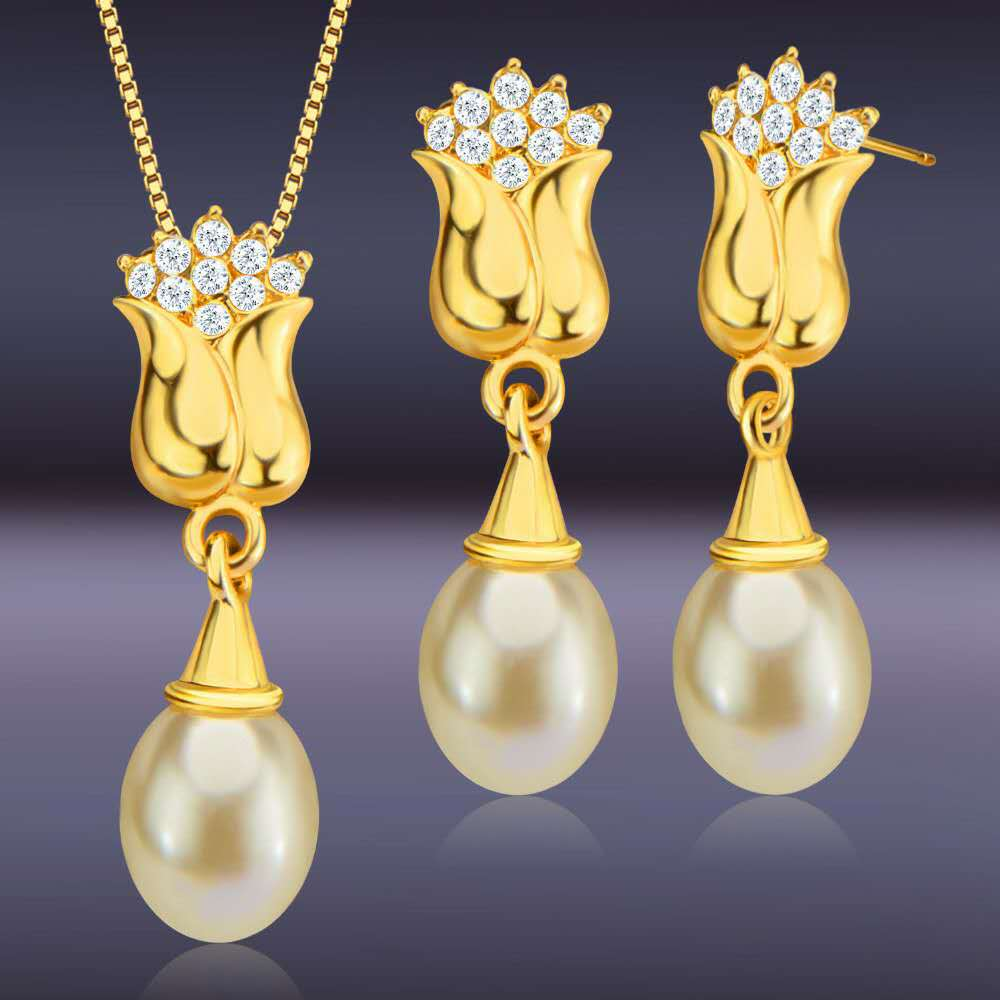 New-Style-Fashion-Bridal-Necklace-Earrings-Two