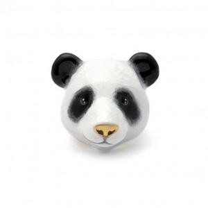 Pete Panda Ring  Panda Ring  Handcrafted Enamel  Panda lover Enamel Ring Animal Ring