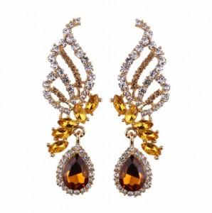 Hot Sale New Products Crystal Butterfly Earrings Trend Women Earring