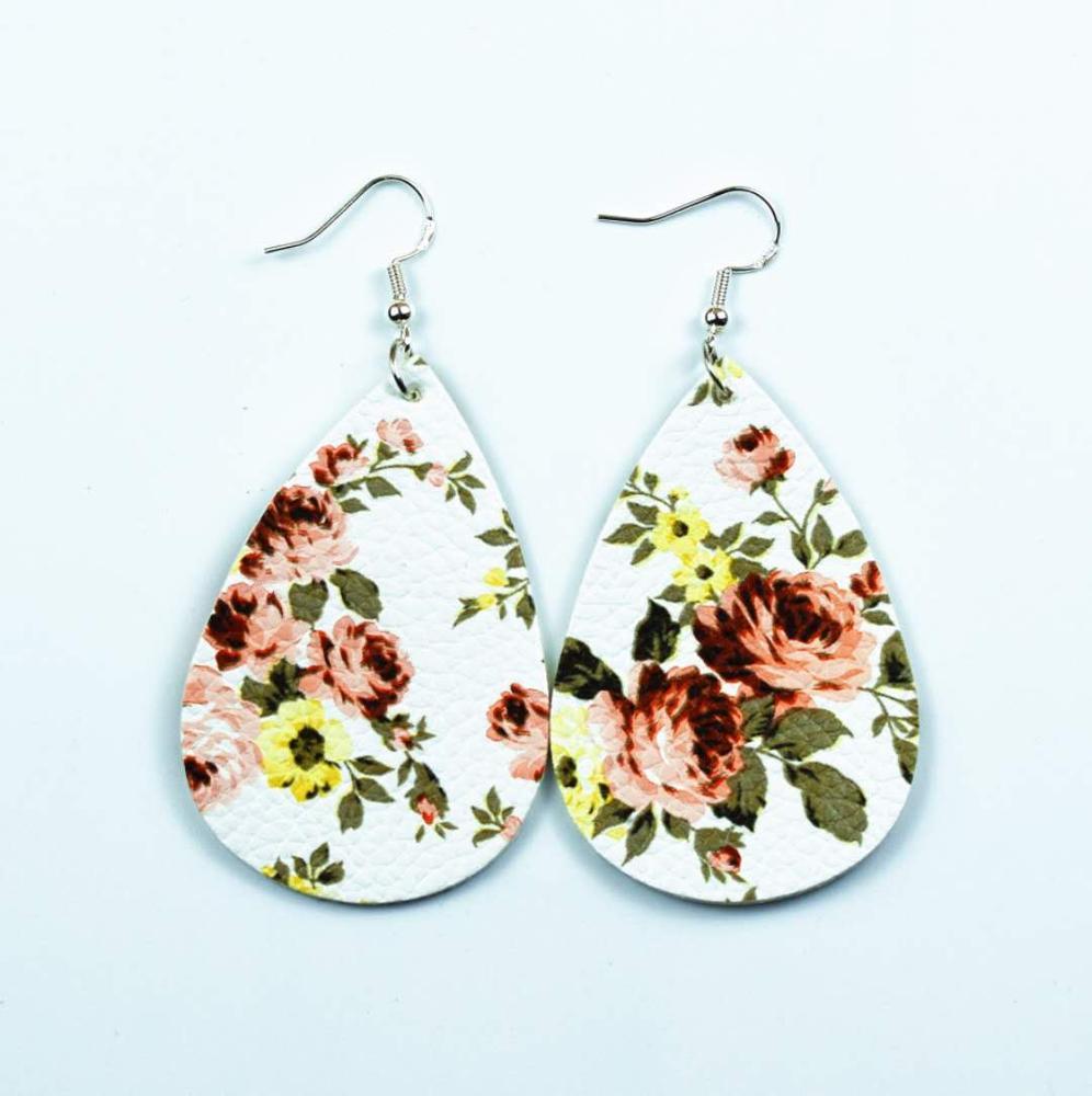 Fashion-pu-earrings-drop-shape-rose-pattern (2)