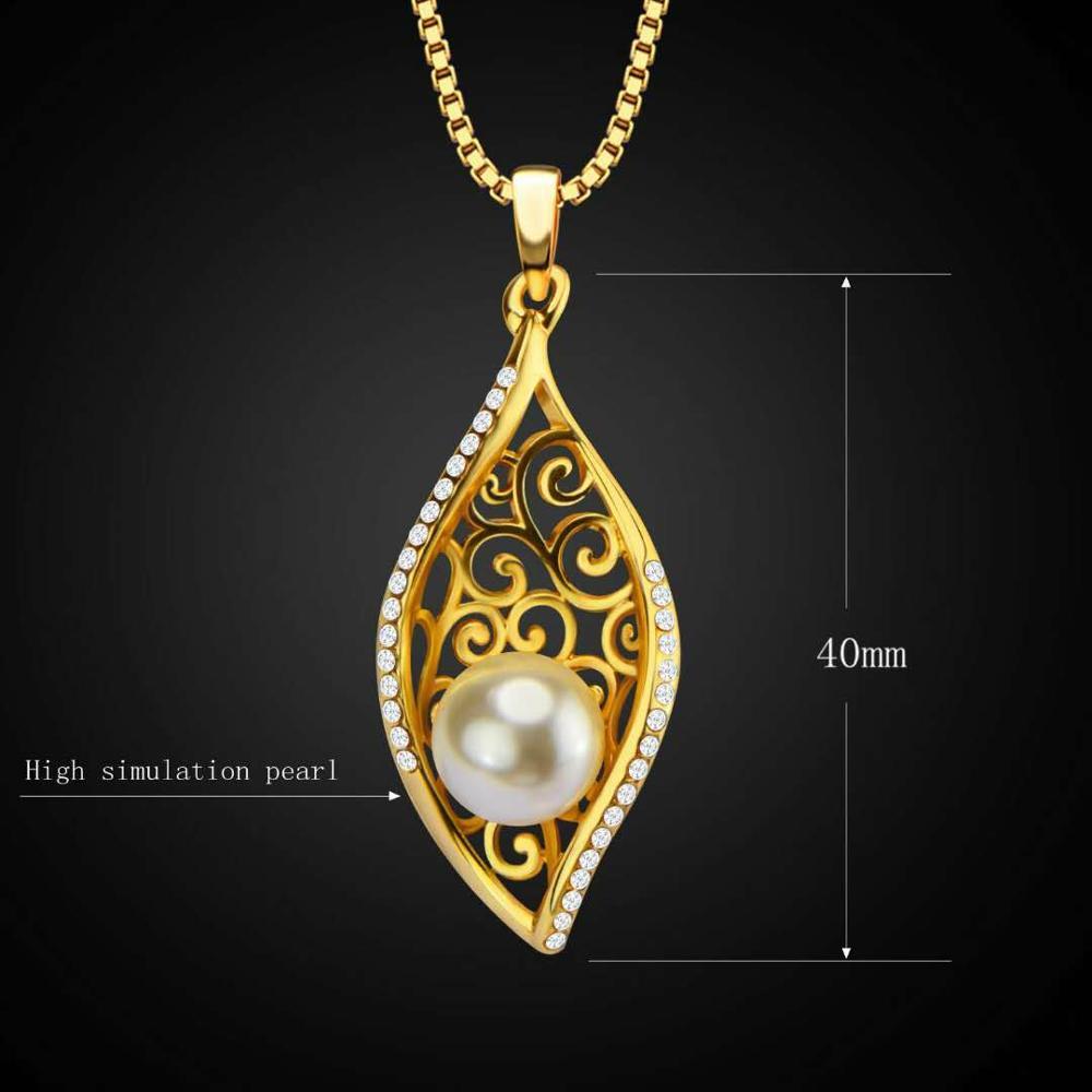 Fashion-bride-pearl-copper-plated-18K-gold