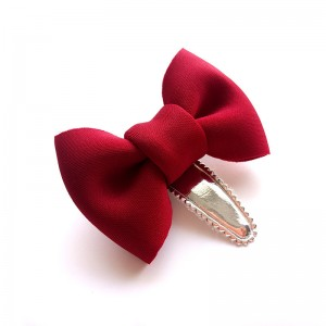 Baby Girls Hair Clips Bow Kids Bowknot Hairpins Hair Accessories Infants Hair Clips