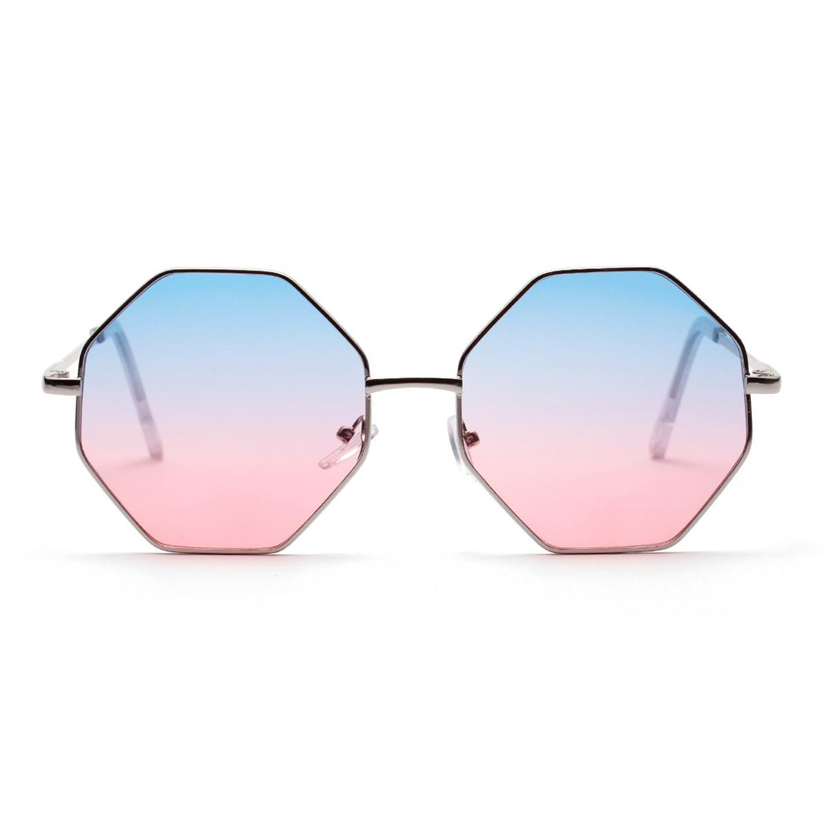 WENZHE New Cool Irregular Metal Sunglasses Frames Women Sunglasses Featured Image
