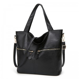 WENZHE Autumn and Winter Tote Shoulder Bag Luxury Pu Leather Women Handbags