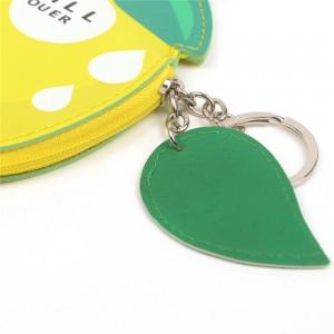 WENZHE Cute Cartoon Fresh Fruit Design PU Mini Wallet Purse