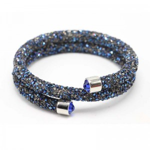 Popular Ladies Jewelry Bride Multilayer Crystal Bracelet