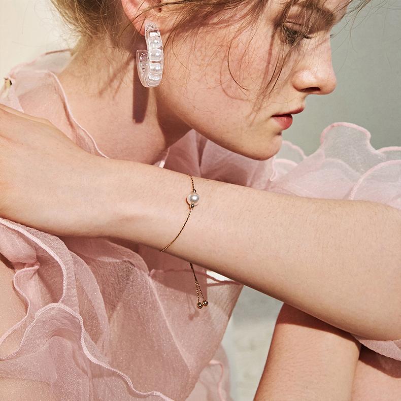 Fashion-shell-pearl-minimalist-adjustable-bracelet (3)