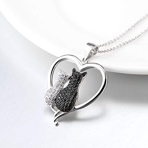Sterling-Silver-925-Cubic-Cat-jewelry-Pendantttttt