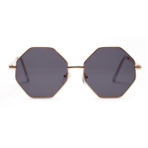 WENZHE New Cool Irregular Metal Sunglasses Frames Women Sunglasses