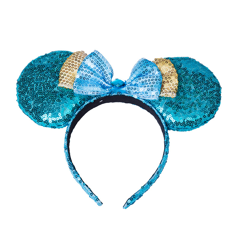 WENZHE Factory Supplier Ears Of Mouse With Bowknot Decoration Headband Hairband Featured Image