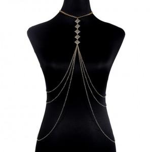 Women Sexy New Choker Body Chain Jewelry Trend Body Chain Dress