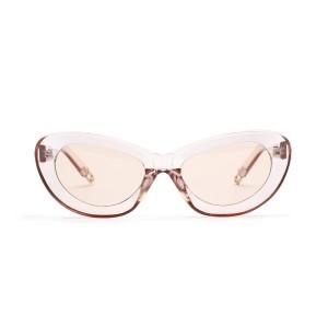 WENZHE Fashion Design Women Vintage Sun Glasses Female Ladies Sunglass Eyewear Cat Eye Sunglasses
