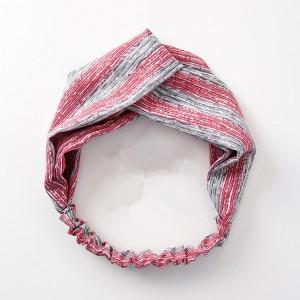 Fashion Retro Women Elastic Turban Twisted Tie Ethnic Headband