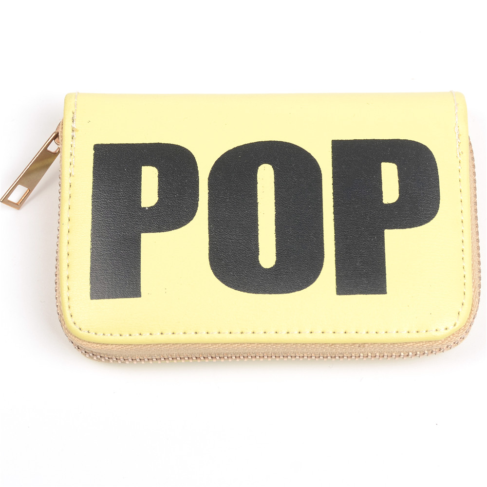 WENZHE Ladies Letters Square Coin Purse Keychain Bag Featured Image