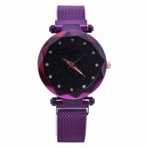 New Style Women Romantic Starry Sky Wrist Watch Fashionable wrist strap geneva quartz luxury women watch