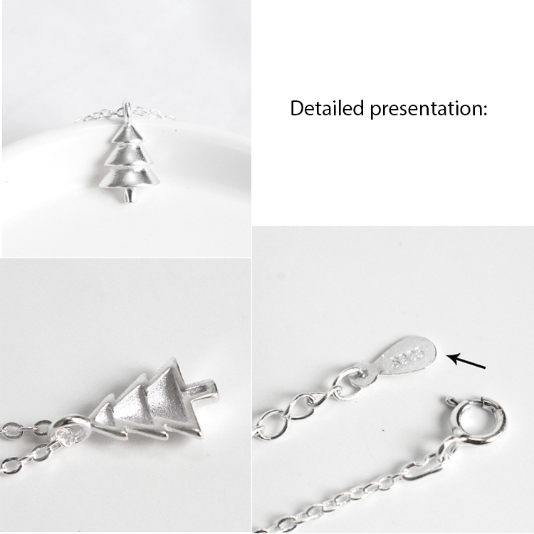 925-Sterling-Silver-Christmas-Trees-Pendant-Clavicle (5)
