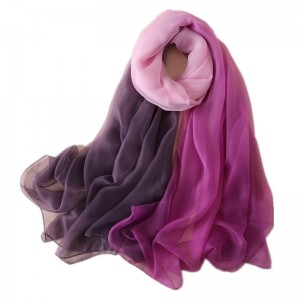 WENZHE New Fashion Luxury Designer Chiffon Soft Wholesale Long Scarf