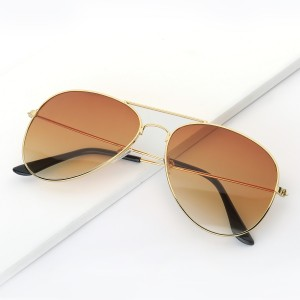 WENZHE Factory Wholesale Women Fashion Eyewear Metal Unisex Sunglasses