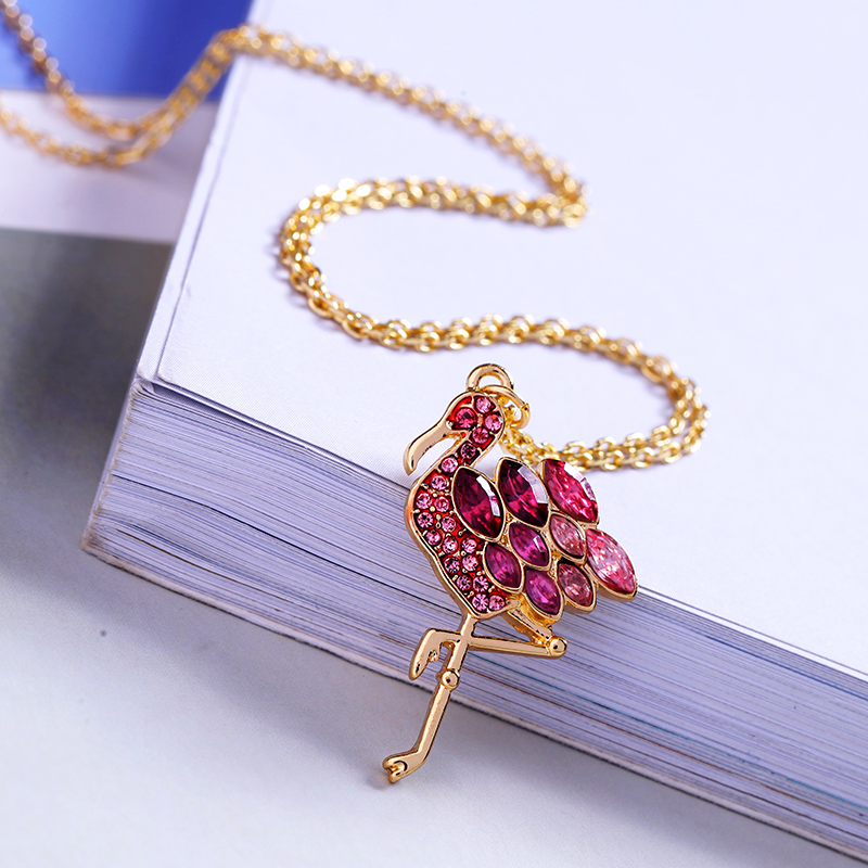 xl02145c-Ins-Style-Flamingo-Pink-Crystal-Pendant (3)