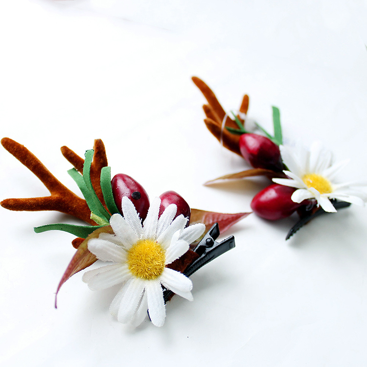 Fashion-Design-Handmade-Christmas-Flower-And-Berry (1)