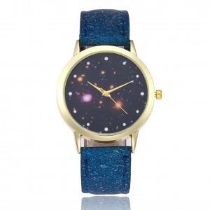 Latest Women Bright Star Galaxy Watch Unisex Men Wrist Watch Starry Sky Wrist Watch