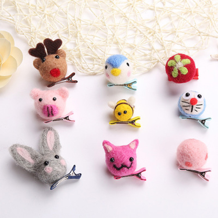 Wholesale-handmade-cute-carton-animal-diy-hairr