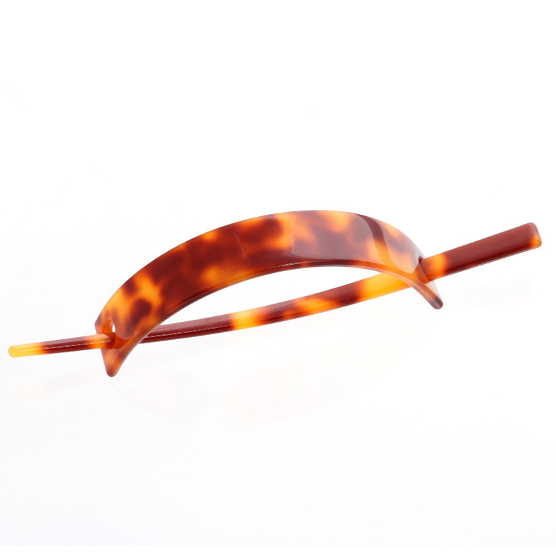 French Cellulose Acetate Acrylic Rectangle Hairpin Hair Forks Clips Clamps Accessories Featured Image