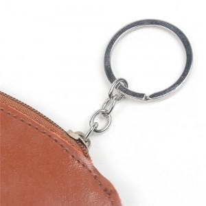 WENZHE Leather PU Coin Bag Cute Children Small Coin Wallet Purse Key Chain
