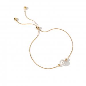 Fashion Shell Pearl Minimalist Adjustable Bracelet