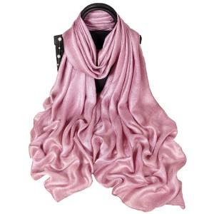 WENZHE New Solid Color Linen Scarves Female Beach Towel Spring And Summer Sunscreen Shawl Scarf