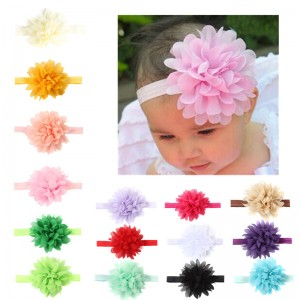 Baby Handmade head flower baby headband baby hair accessory hair band