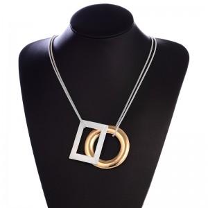 Wholesale Fashion Women Alloy Pendant Necklace Pendant Necklace Accessories Women Jewellery
