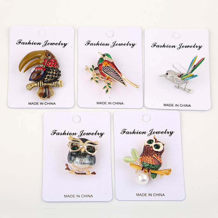 2019-new-painted-bee-brooch-animal-accessories (5)