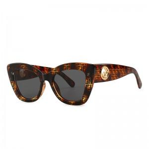 European and American retro sunglasses cat eyes micro-narrow narrow sunglasses