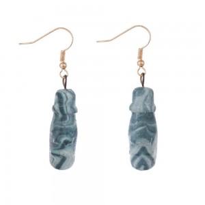 WENZHE Fashion high quality handmade vintage geometric hook earrings