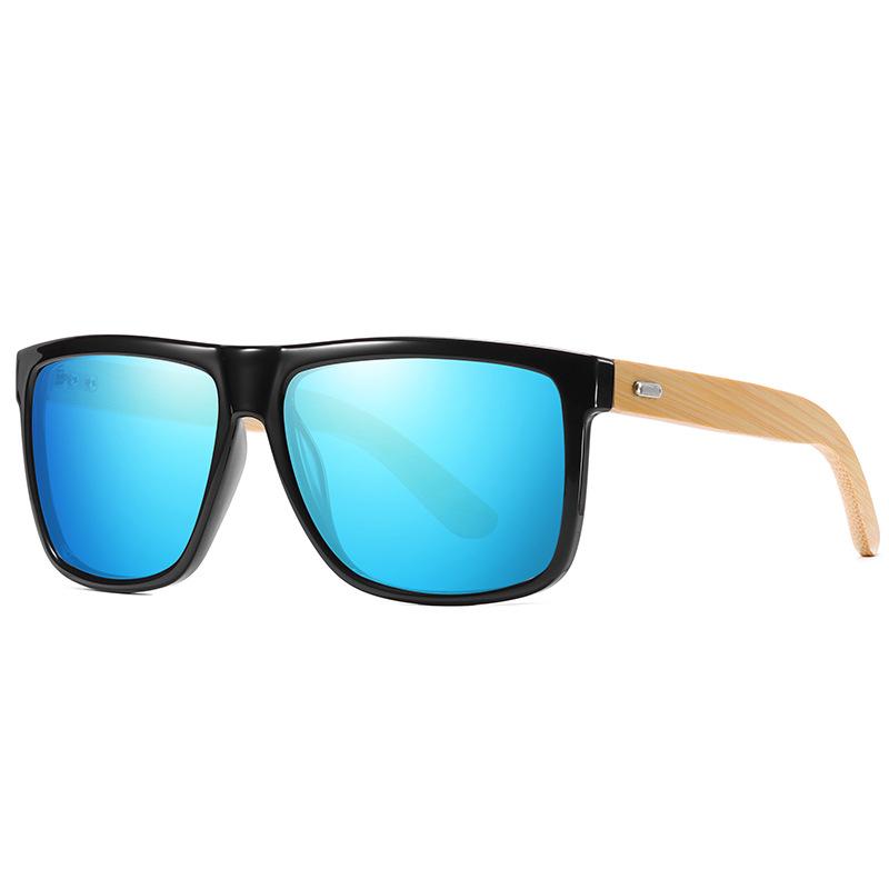 WENZHE Hot Sale Custom Fashion Polarized Wooden Bamboo Sunglasses For Unisex Featured Image