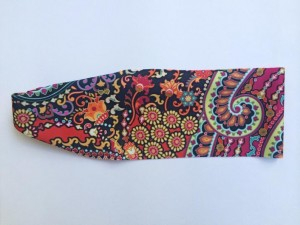 Yoga Running Headband – Wild Abandon Print – Workout Headband – Fitness Wide Nonslip Headband
