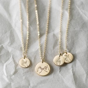 Sister Gifts Best Friend Necklaces  Hand Gestures Necklace Cool Gift Ideas for Daughters  Fun Gifts for Awesome Ladies