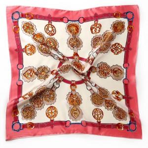 WENZHE New Design Printed Square Scarf Women Shawl Scarf Girl Lady Bag Scarf