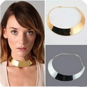 European and American jewelry punk fashion metal exaggerated necklace collar