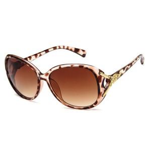 WENZHE Wholesale Fashion Fox Head UV Protection Retro Big Frame Sunshade Sunglasses