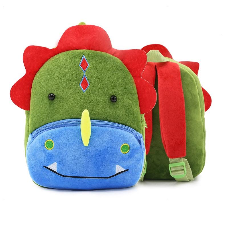 2019 Children School Backpack 3D Cartoon Animals Unicorn Design Plush For Baby Girls Kindergarten Kids School Bags Featured Image